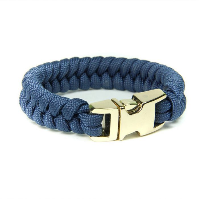 Customized Single Color Fishtail Paracord Bracelet Personalised Gifts Marketplace