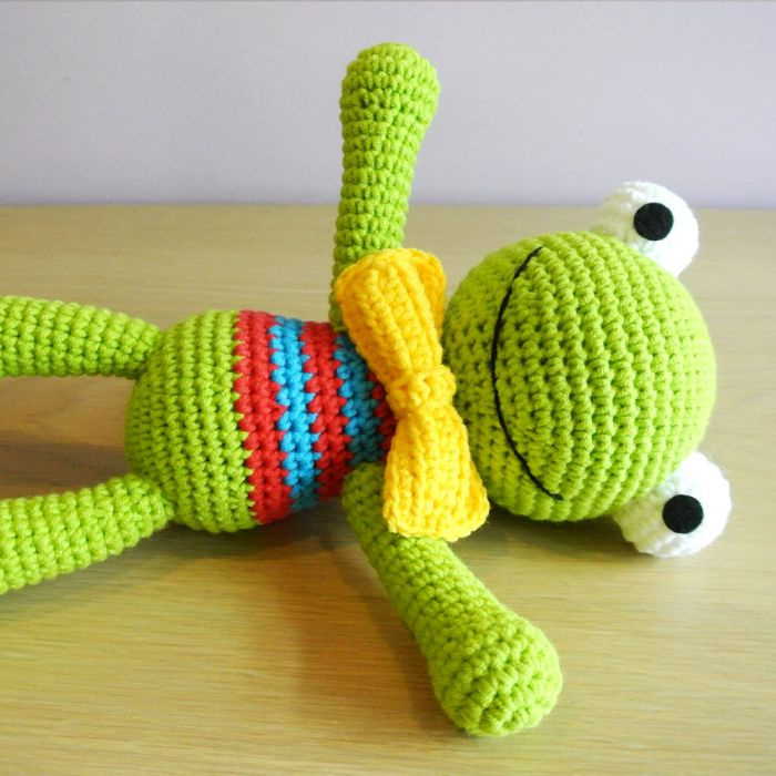 Ravelry: Felix the Frog pattern by Mari-Liis Lille | 700x700