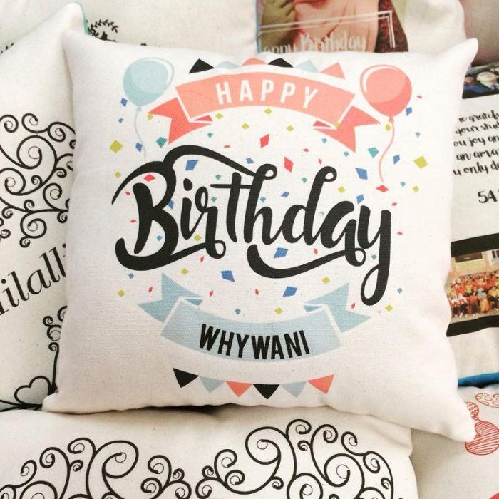 Customize Birthday Pillow