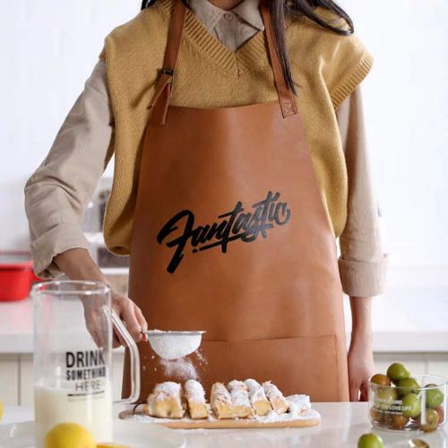 'FANTASTIC' Leather apron