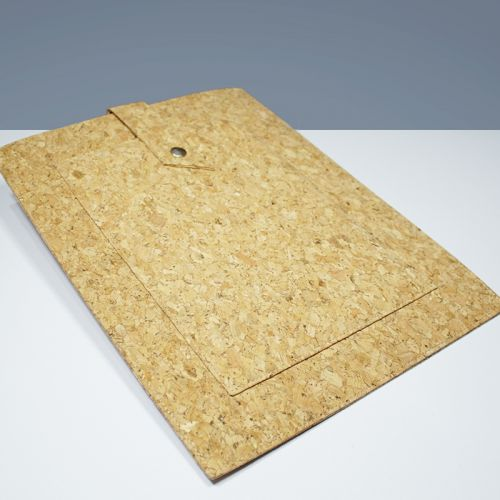 EcoQuote iPad & Tablets Stylish Sleeve Eco Friendly Cork Material, Sustainable & Great For Vegan, Environment Concious Friends