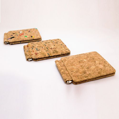 EcoQuote Handmade Money Clip Deluxe Eco-Friendly Cork Material Great for Vegan