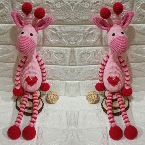 Handmade Amigurumi Lovly Giraffe