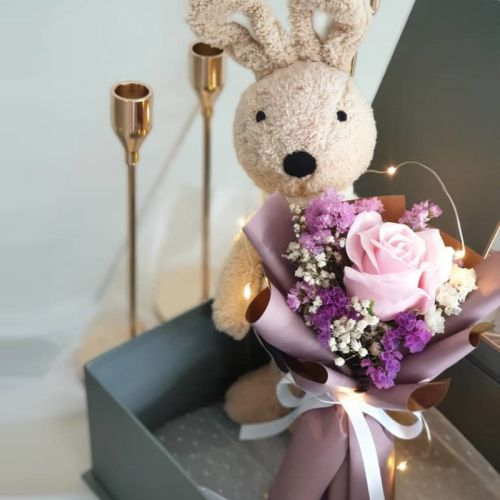 Valentine 2020 LVFB 43 - Forget Me Not Bunny