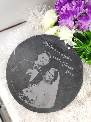 Personalized Slate Plate