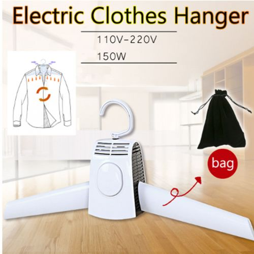 Foldable Electric Drying Clothes Hanger