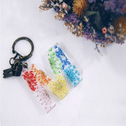 Handcrafted Flower Keychain