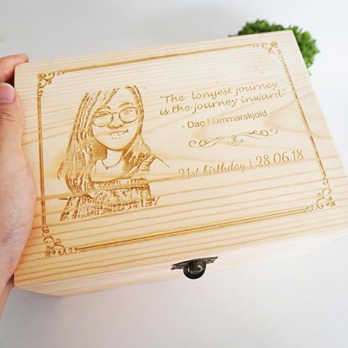 Wooden Keepsake/Storage Box