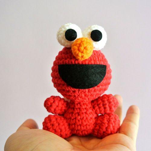 Crochet Elmo Amigurumi