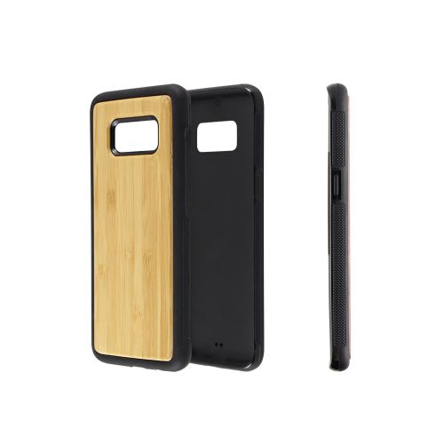 EcoQuote Samsung Galaxy S7 Phone Case Bamboo or Cork Eco-Friendly Material & Great For Vegan