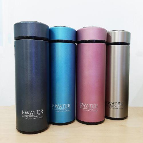 Glass Flask Tube Flask (260 ml) + FREE NAME ENGRAVING