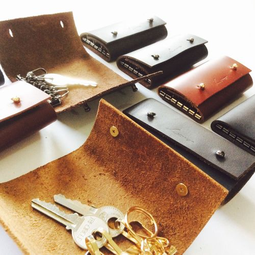 Personalised Genuine Leather Key Holder