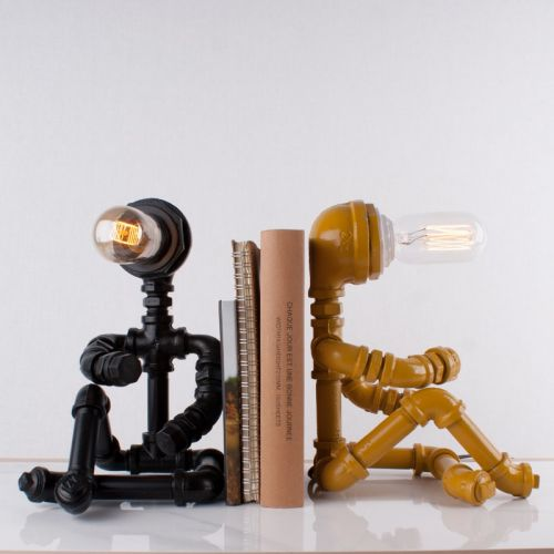 Thinking Man Lamp