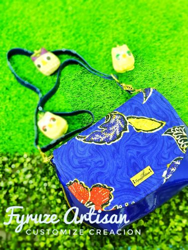 Fyruze Artisan * Curvy Pop bag