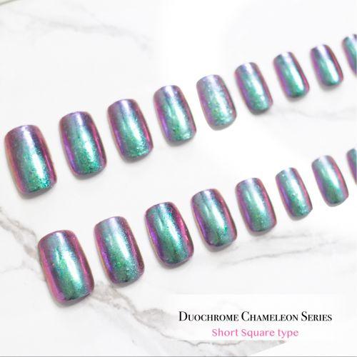 False Nails Duochrome Chameleon Series