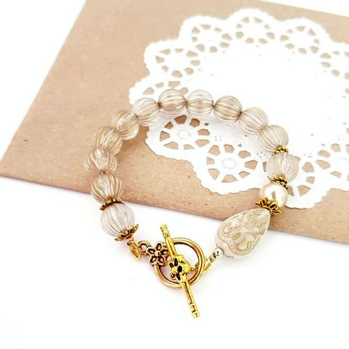 Gold Shadow Bracelet