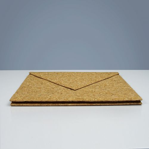 EcoQuote Envelope Folder Handmade Eco-Friendly Cork Material, Sustainable & Great For Vegan, Environment Concious Friendly