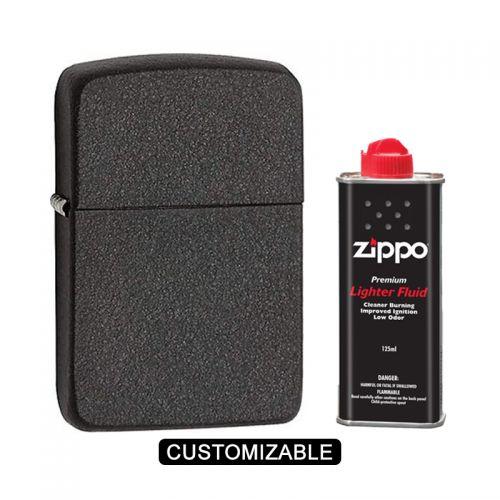 Zippo 28582 - 1941 Replica Black Crackle Lighter