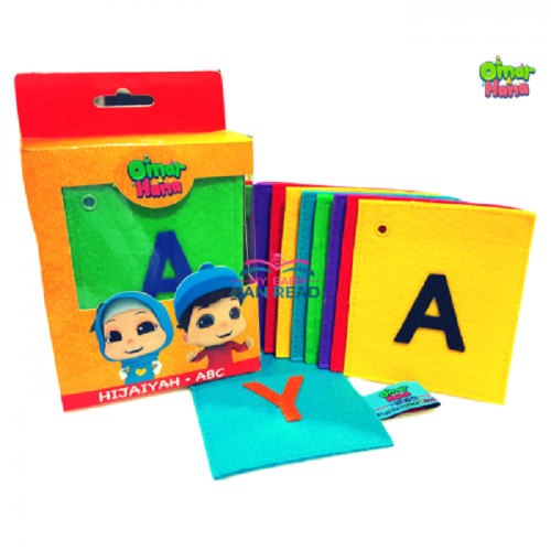 Omar & Hana  ABC Uppercase Flash Felt Card