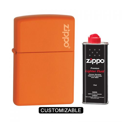 Zippo 231ZL Orange Matte Lighter