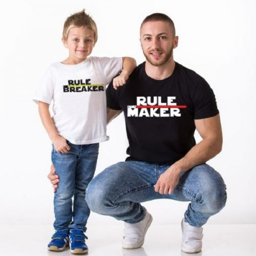 Rule Maker Father And Son Tshirt