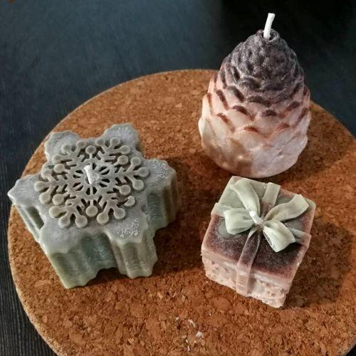 Christmas Soap & Candle Gift Set