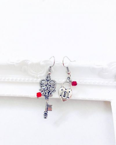 Key to Heart Earrings