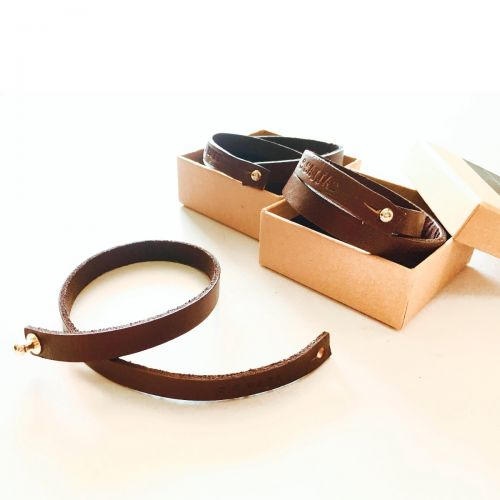 Personalised InStyle Leather Strap Bracelet