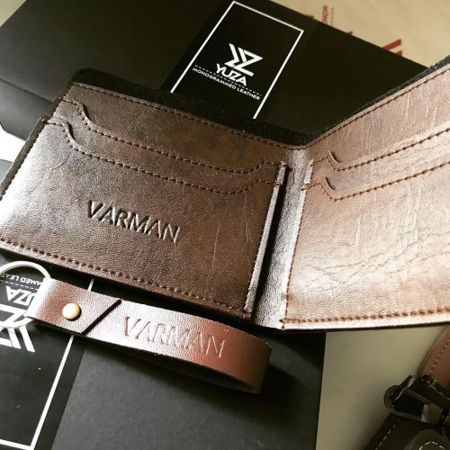 Personalised Umar Bifold Wallet