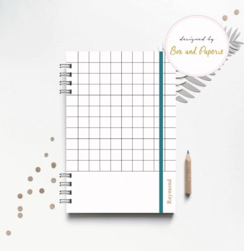 Personalised hardcover planner