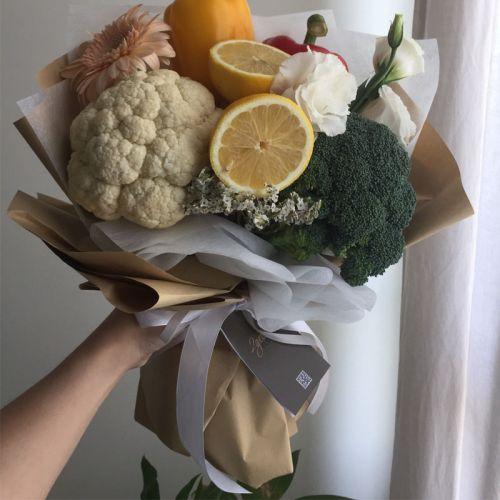 Vegetable & Flower Bouquet