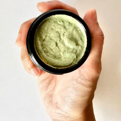 Spirulina & Moringa Clay Face Mask @ 50g