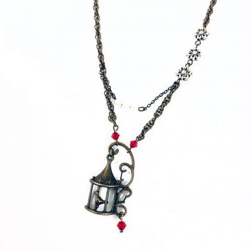 Birdie Short Necklace