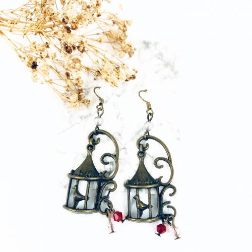 Singing Birds Earrings