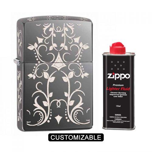 Zippo 28833 Filigree Pattern Lighter