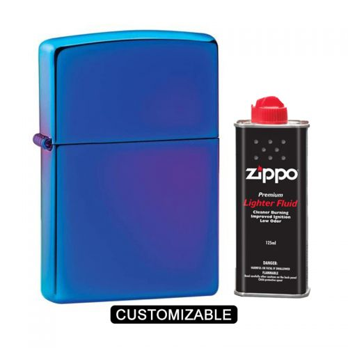Zippo 29899 High Polish Indigo Lighter