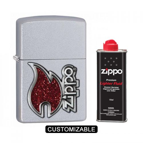 Zippo 28847 Red Flame Lighter