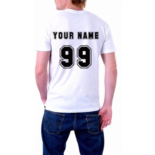Personalised Jersey Styled T-Shirt