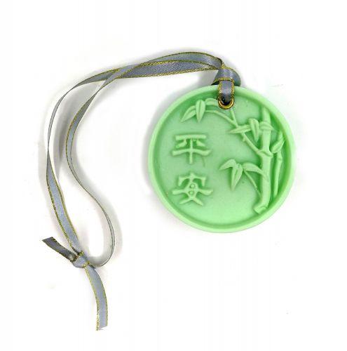 A31) 竹报平安香薰蜡片 (50g) + 四方小礼盒