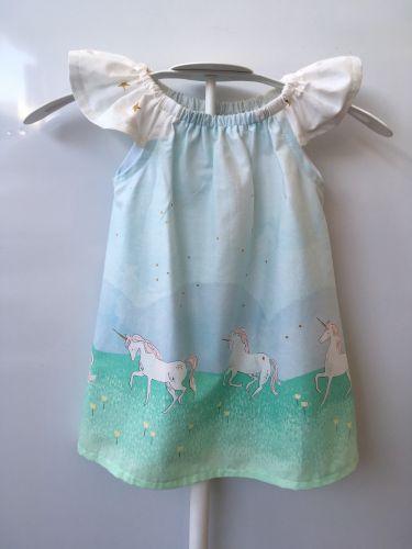 Seaside Dress - Flutter Sleeves