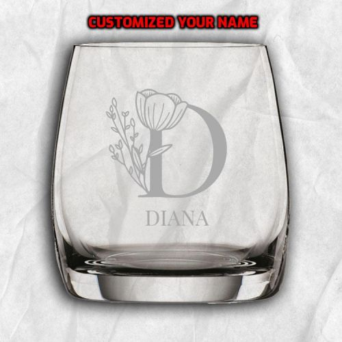 Personalized Whiskey Vino Grande Glass with FREE Name Engraving