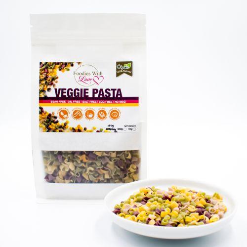 Homemade Organic Veggie Pasta