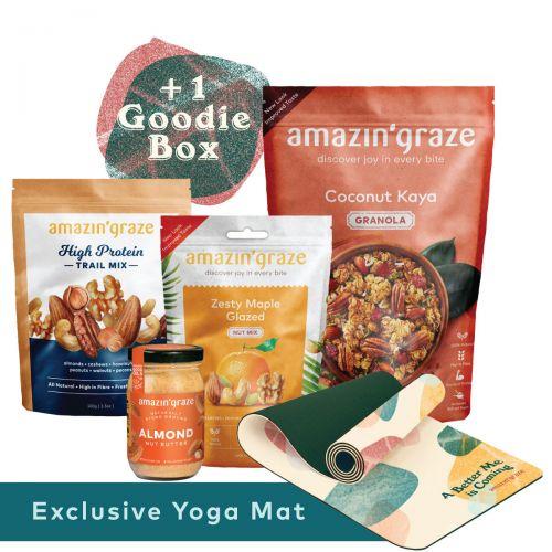 Amazin' Graze Snack Bundle + Free Gift + Goodie Box (Start Strong Bundle)