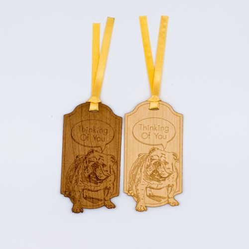 Wooden Bookmark (Dog Series)