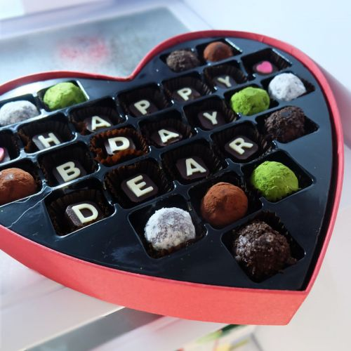 Customised Chocolate Wordings