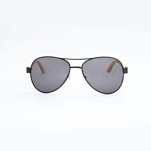 Aviator Bamboo Sunglasses C015