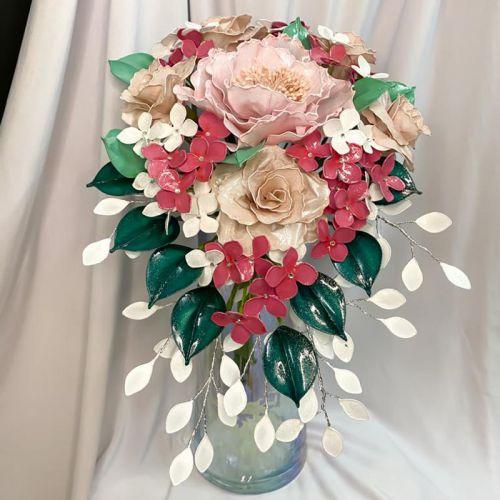 Azyla Resin Flower Bouquet