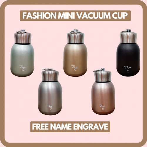 Mini Stainless Steel Vacuum Cup [FREE Name Engrave]