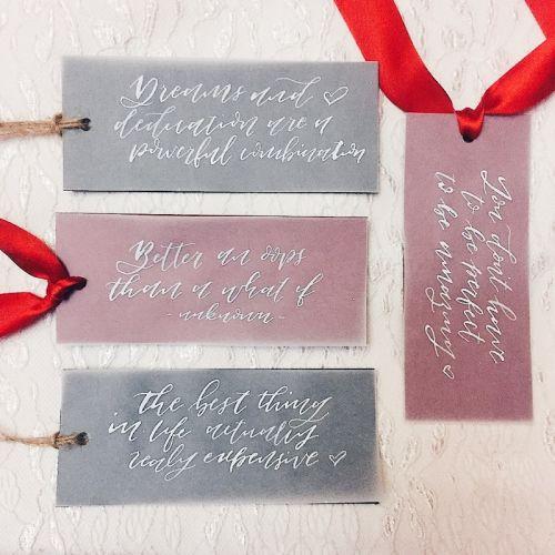 Calligraphy Bookmark