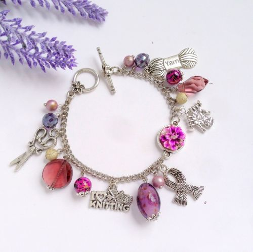 Hancrafted Charm Bracelet